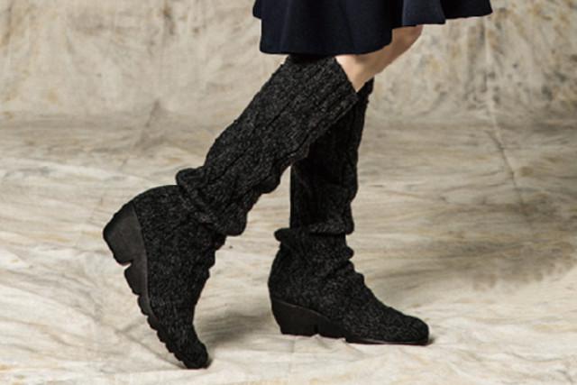 ニットロングブーツは【KEiKA】で~軽い・歩きやすい・長く使えるブーツをご案内~